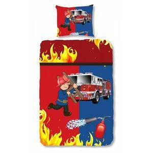 housse de couette pompier 200x200 achat vente housse de couette pompier 200x200 pas cher. Black Bedroom Furniture Sets. Home Design Ideas