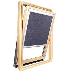 rideau bleu grise achat vente rideau bleu grise pas cher cdiscount. Black Bedroom Furniture Sets. Home Design Ideas