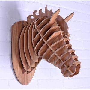 t te de cheval troph e chasse bois luxe art d co achat vente objet d coration murale les. Black Bedroom Furniture Sets. Home Design Ideas