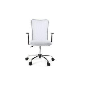 fauteuil de bureau blanc - achat / vente fauteuil de bureau blanc ... - Chaise De Bureau Blanche Design