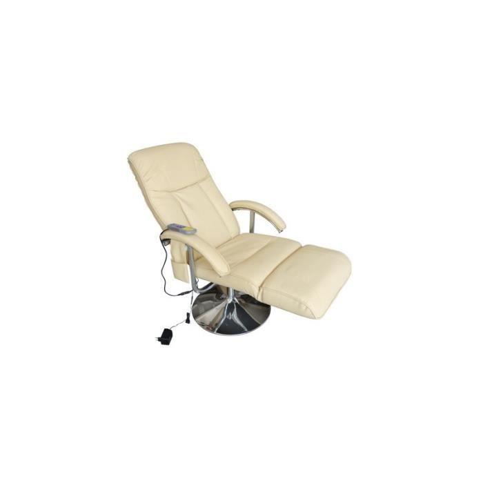 Fauteuil de massage confort relaxant massage massant d tente beige 1702005 - Fauteuil de massage scholl ...