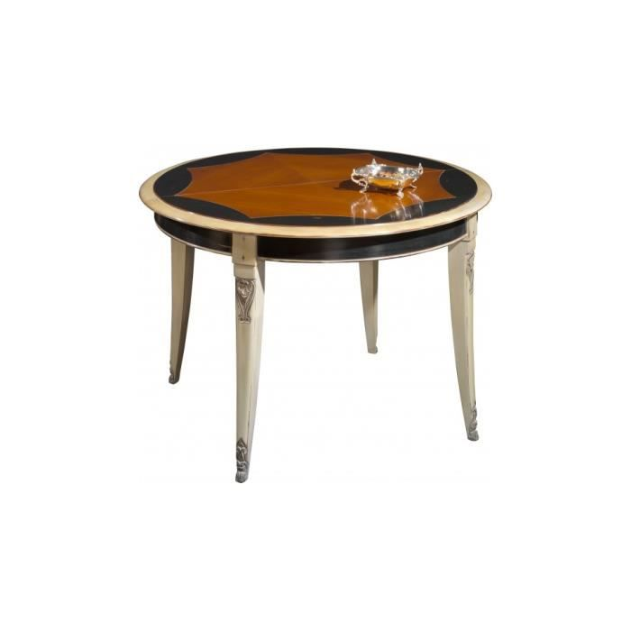 Table ronde merisier achat vente table a manger seule for Table ronde chez but