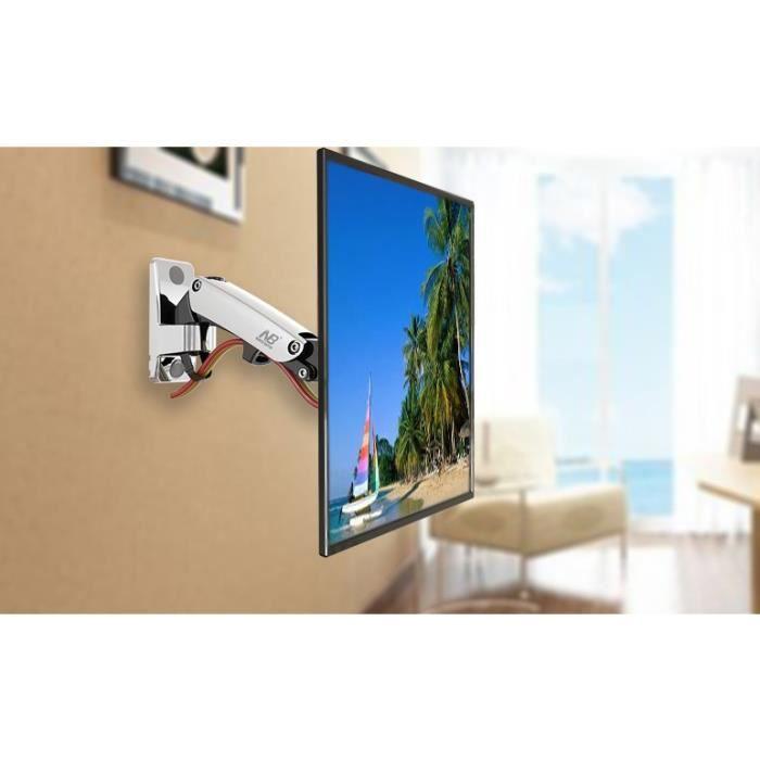 support mural tv avec bras articuler de 30 40. Black Bedroom Furniture Sets. Home Design Ideas