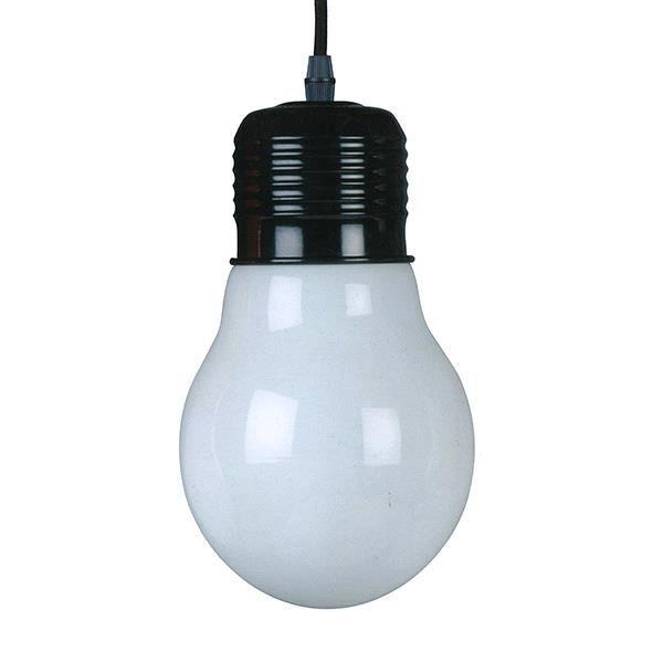 Lampe ampoule suspendre noir achat vente lampe for Lampe ampoule suspension