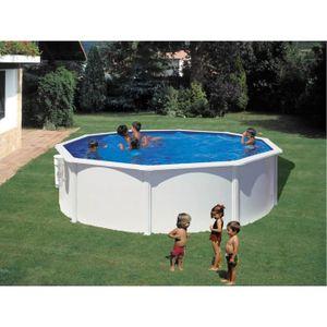 Piscine acier r sine habitat et jardin achat vente for Piscine acier ovale hydrium 5 00 x 3 60 x 1 20 m