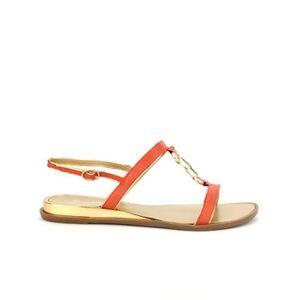 SANDALE - NU-PIEDS sandale - nu-pieds, Sandales Rouge Chaussures Femm