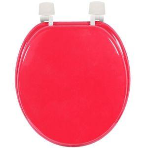 abattant toilette rouge achat vente abattant toilette rouge pas cher soldes cdiscount. Black Bedroom Furniture Sets. Home Design Ideas