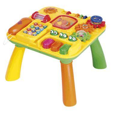 TABLE - JOUET ACTIVITÉ Table d'éveil multi-activitéS sur pieds