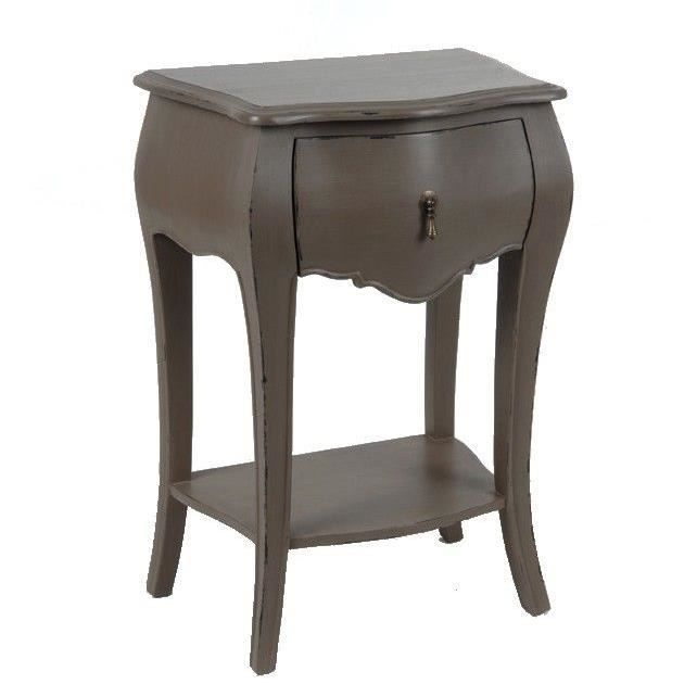 chevet baroque taupe achat vente chevet chevet baroque taupe cdiscount. Black Bedroom Furniture Sets. Home Design Ideas
