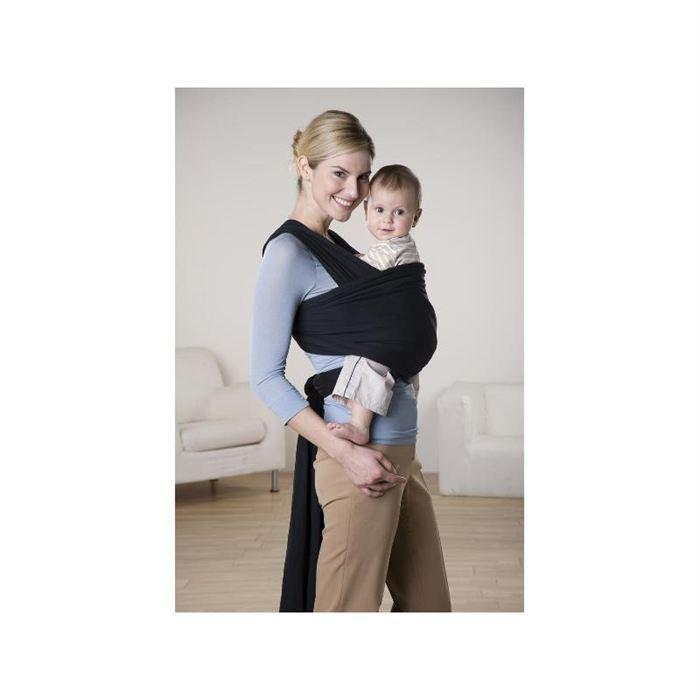 echarpe porte b b jersey sling noir 510 cm noir achat vente porte b b 4030454002370. Black Bedroom Furniture Sets. Home Design Ideas