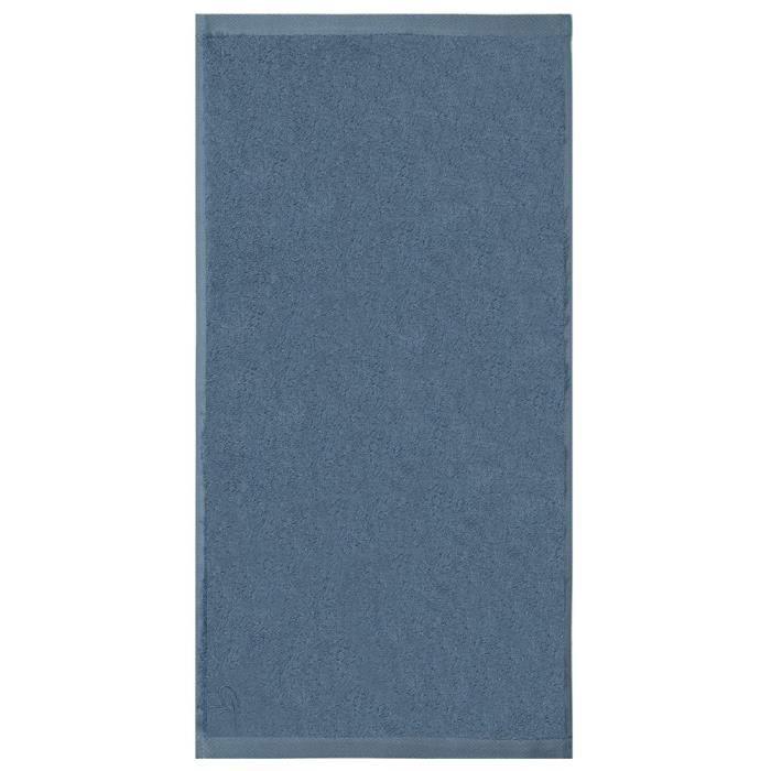 tapis de bain ligne bambou bleu 50x100 achat vente tapis de bain cdiscount. Black Bedroom Furniture Sets. Home Design Ideas