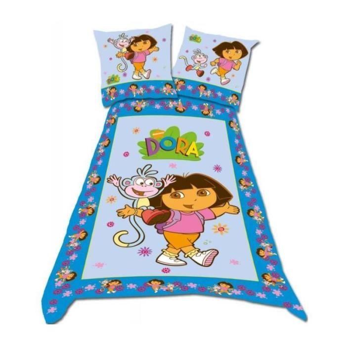 Dora parure de lit housse de couette achat vente - Housse de couette pour lit 140 ...