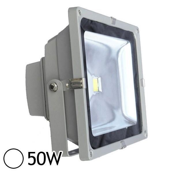 projecteur led 50w ext rieur ip65 blanc jour achat vente projecteur led 50w ext rieu. Black Bedroom Furniture Sets. Home Design Ideas