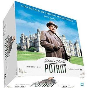 DVD SÉRIE POIROT - INTEGRALE SAISONS 1 A 13 - 49 DVD