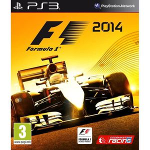 JEU PS3 F1 2014 Jeu PS3