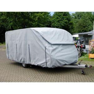 BÂCHE DE PROTECTION Housse Multicouches pour Caravane 670x250x220cm