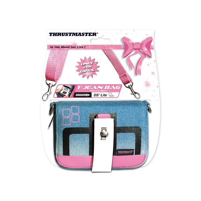 "T-JEAN BAG  ""only for girls "" / ACCESSOIRES CONSOLE."