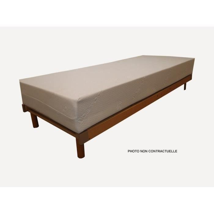 matelas light 4 mousse haute resilience 70x190 cm achat vente matelas cdiscount. Black Bedroom Furniture Sets. Home Design Ideas