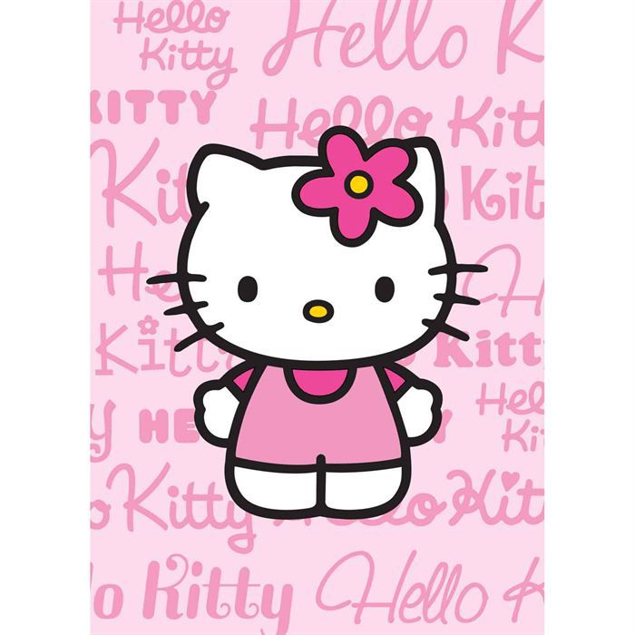 Tapis Hello Kitty Chaton Rose 95x133 Hello Kitty Achat Vente Tapis Soldes D T Cdiscount