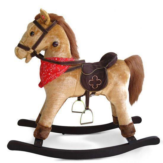 cheval bascule marron clair sonore achat vente jouet. Black Bedroom Furniture Sets. Home Design Ideas