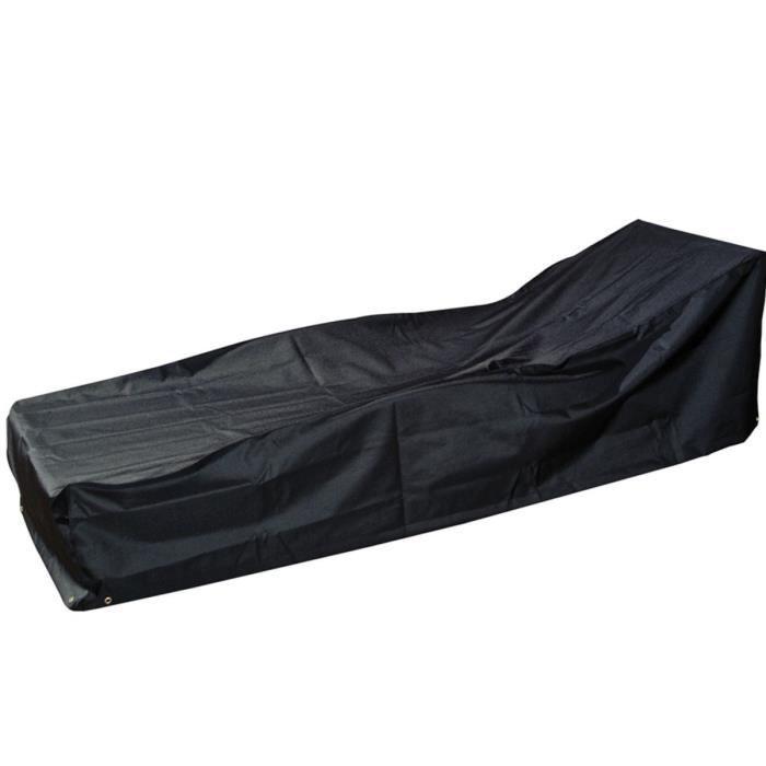 housse modulaire chaise longue 220 x 80 x 55 cm achat vente housse meuble jardin housse. Black Bedroom Furniture Sets. Home Design Ideas