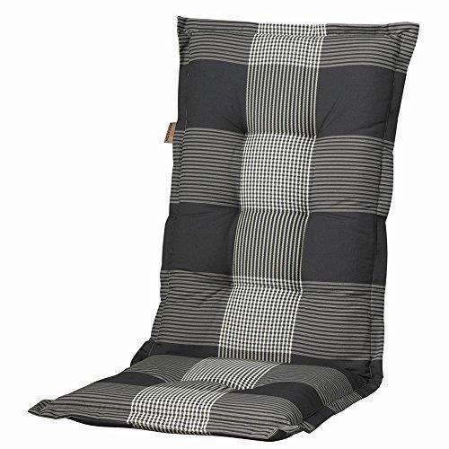 Madison 7florc184 florence galette de chaise 75 coton 25 for Galette chaise dsw