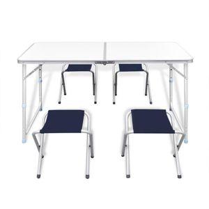 Table pique nique pliante achat vente pas cher cdiscount - Table de camping avec banc ...