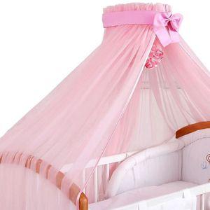 ciel de lit bebe moustiquaire achat vente ciel de lit bebe moustiquaire pas cher cdiscount. Black Bedroom Furniture Sets. Home Design Ideas
