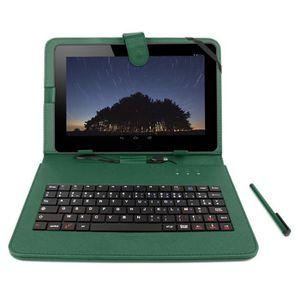 Housse tablette 9 pouces clavier prix pas cher cdiscount for Housse tablette qilive