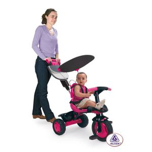 TRICYCLE INJUSA Tricycle Rose et Noir Free Pink