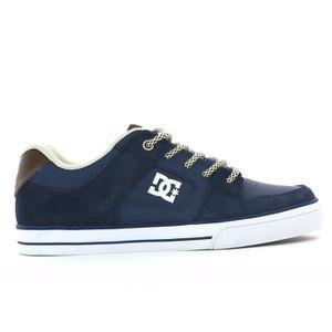 BASKET Basket basse dc shoes pure junior cuir et nubuck m