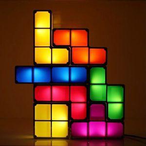 LAMPE A POSER Lampe Tetris 3D modifiable