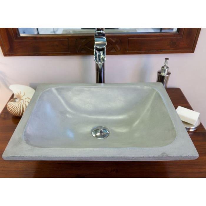 Vasque poser trap ze ciment achat vente lavabo vasque vasque poser trap ze cime - Vasque a poser occasion ...