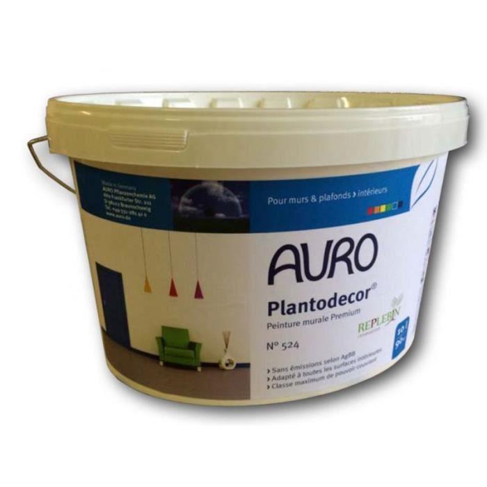 peinture murale plantodecor auro 10l achat vente peinture vernis cdiscount