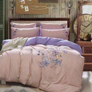 parure de lit 220x240 violet achat vente parure de lit 220x240 violet pas cher les soldes. Black Bedroom Furniture Sets. Home Design Ideas