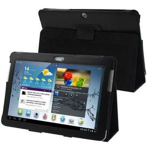 TABLETTE TACTILE Housse cuir Samsung Galaxy Tab 2 10.1 P5100 Suppor