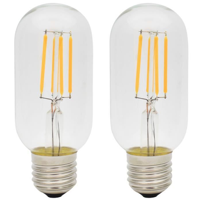 ampoule led filament achat vente ampoule led filament pas cher les soldes sur cdiscount. Black Bedroom Furniture Sets. Home Design Ideas