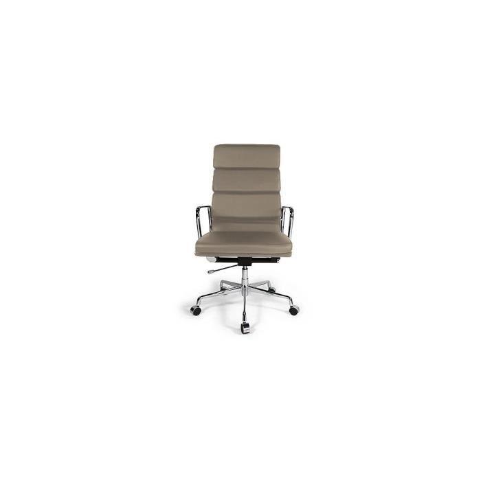 fauteuil soft pad group ea 219 inspir eames cu achat vente chaise de bureau cdiscount. Black Bedroom Furniture Sets. Home Design Ideas