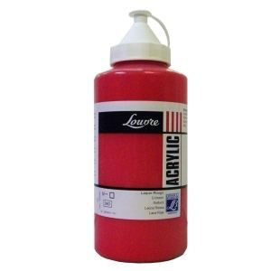 Peinture acrylique louvre 750ml laque rouge le achat vente peinture acry - Achat peinture acrylique ...