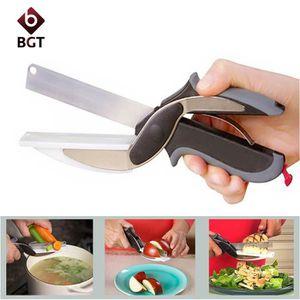 PACK FAIT MAISON Clever Cutter 2 en 1 Couteau de cuisine