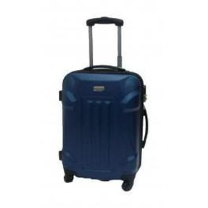 VALISE - BAGAGE Valise trolley taille cabine 4 roues 50cm bleu
