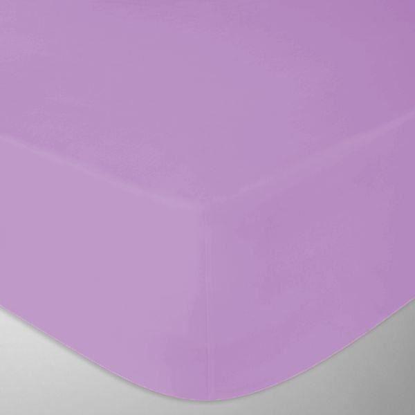 drap housse flanelle 160x200 cm couleur violet fabrication portugaise achat vente drap. Black Bedroom Furniture Sets. Home Design Ideas