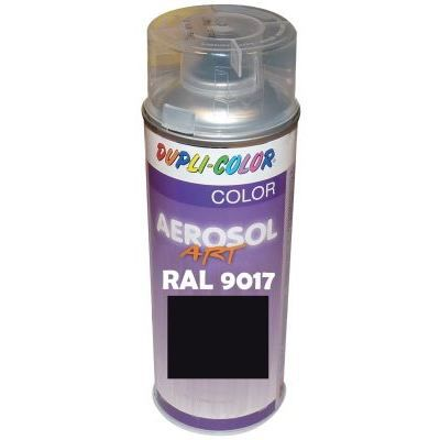 peinture ral 9017 mat noir 400 ml achat vente peinture vernis cdiscount. Black Bedroom Furniture Sets. Home Design Ideas