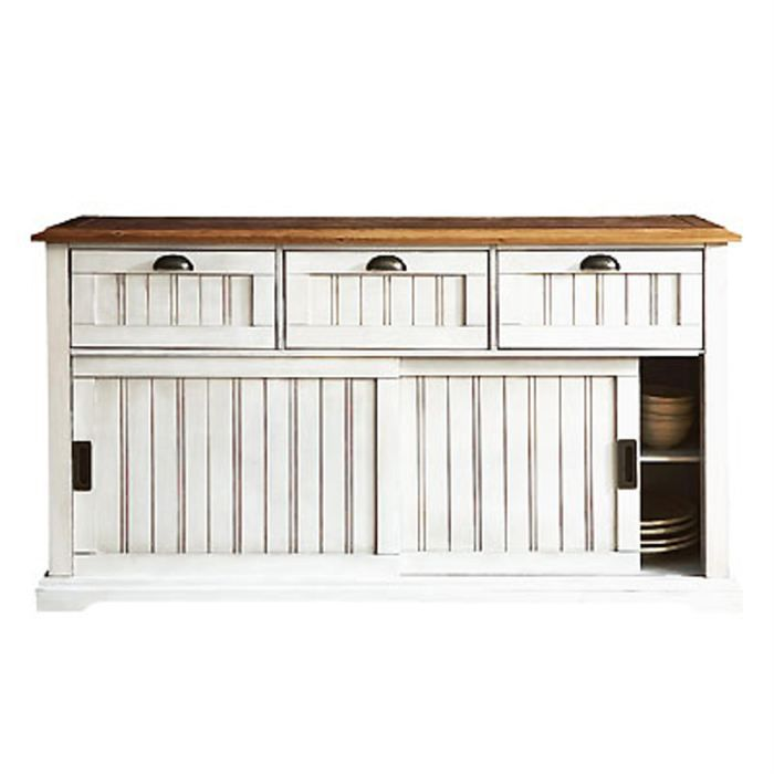 buffet bas 2 portes 3 tiroirs berling blanc patin achat vente buffet bahut buffet bas 2. Black Bedroom Furniture Sets. Home Design Ideas