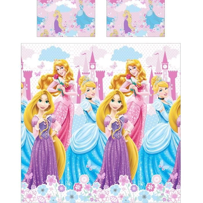 Lit Princesse Adulte : Parure de lit double disney princesse dreams ad achat