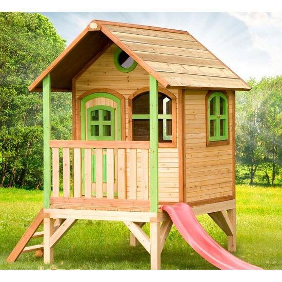 Maisonnette cabane bois enfant tom achat vente maison for Cabane minnie