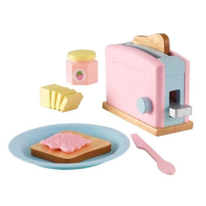 Kidkraft set grille pain couleurs pastel achat vente - Cuisine couleur pastel ...