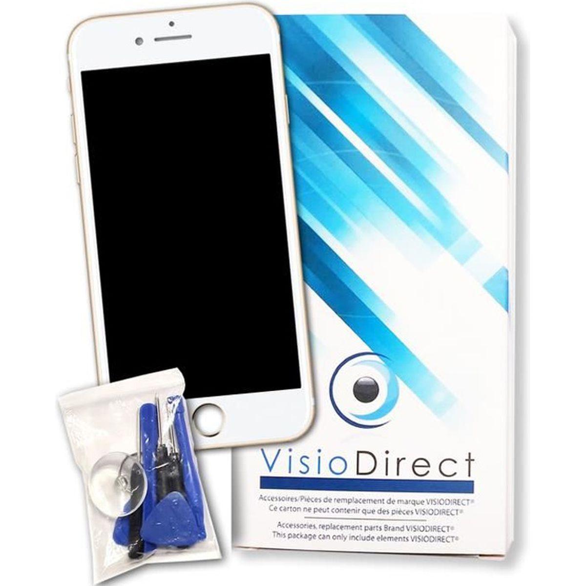 ecran complet pour iphone 7 blanc t l phone portable vitre tactile ecran lcd sur chassis. Black Bedroom Furniture Sets. Home Design Ideas