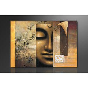 tableau bouddha achat vente tableau bouddha pas cher les soldes sur cdiscount cdiscount. Black Bedroom Furniture Sets. Home Design Ideas