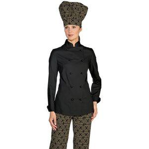 veste de cuisine femme achat vente veste de cuisine femme pas cher cdis. Black Bedroom Furniture Sets. Home Design Ideas